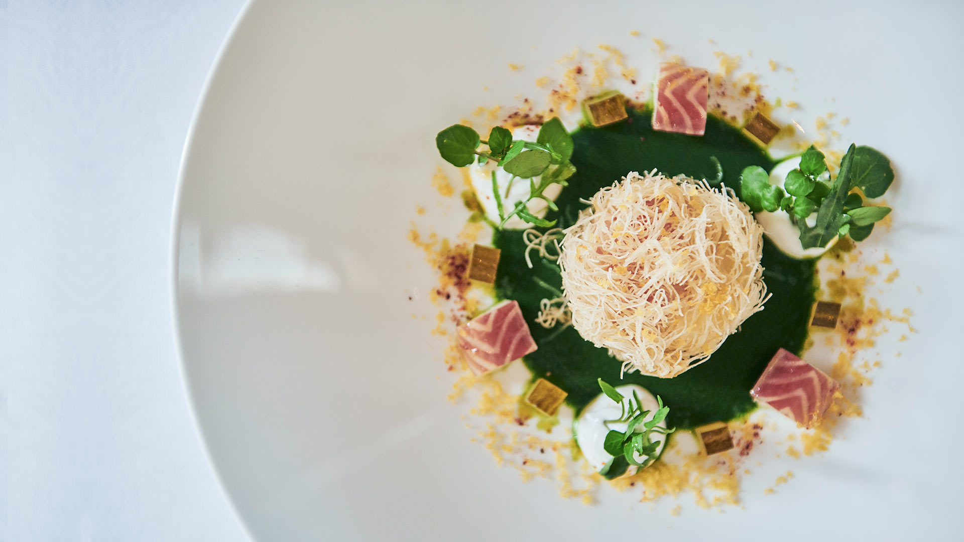 Crisp-hen-egg-watercress,-smoked-eel-skry-and-bottarga-1920x1080